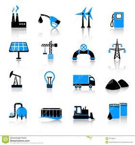 industry icon set royalty free stock image image 22109816