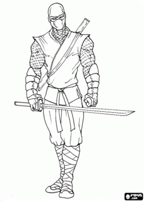 coloring pages of ninja warriors warrior ninja gaiden coloring pages coloring pages