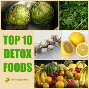 10 Foods That Detox The by Top 10 Detox Foods Slimming Solutions