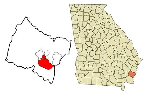 what co file glynn county georgia incorporated and unincorporated