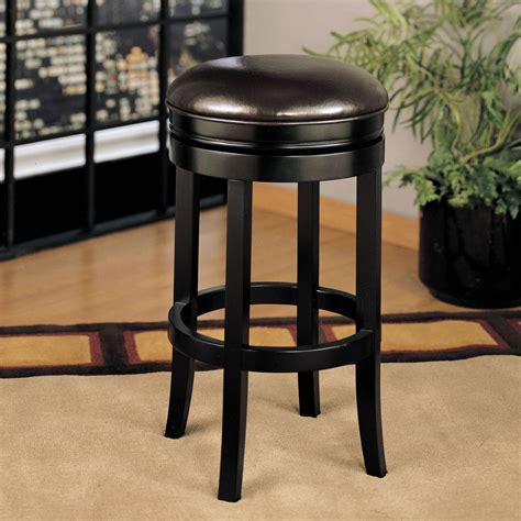 armen living 30 in backless swivel bar stool lcmbs404baes30