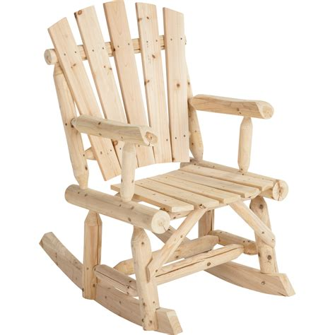 Ideas Design For Adirondack Rocking Chair Stonegate Designs Log Adirondack Rocking Chair Model T 24n339mb Northern Tool Equipment