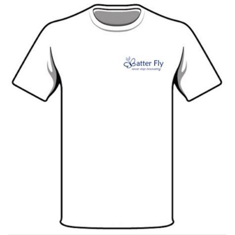 T Shirt Bianica t shirt con logo batter fly