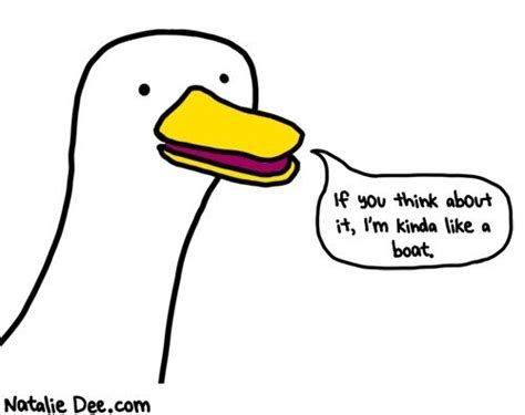 Bad Idea When It Looks Like A Duck Quacks Like A Duck Its A Croc Second City Style Fashion by Comic By Natalie That Duck Is Terrible It Looks Like