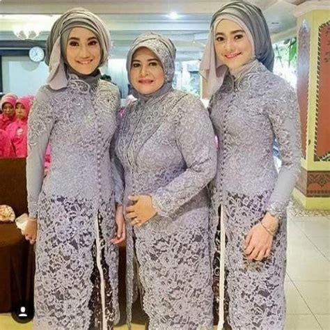Kebaya Gamis Batik by Model Kebaya Batik Modern Untuk Pesta Model Baju Muslim