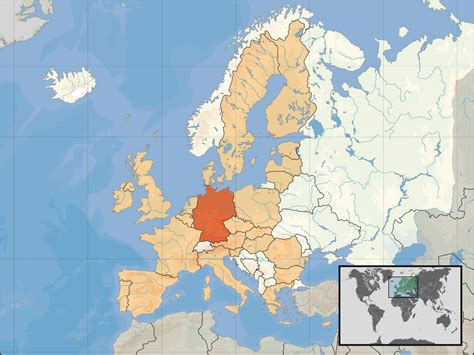 germany location map eu location ger mapsof net