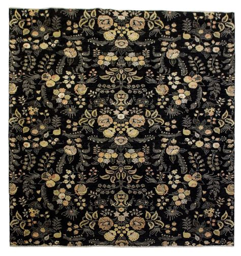 Black Floral Area Rug Large Black Floral Wool Area Rug 11 6 Quot X 8 10 Quot Exciting Auction Event Day One