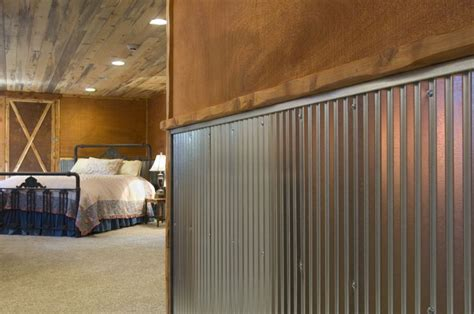 home interior materials corrugated metal for interior walls wainscot 1 1 4