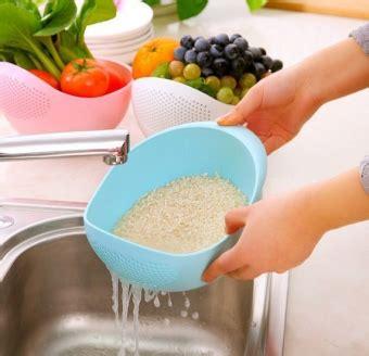 Keranjang Serbaguna Cuci Buah Dan Sayuran Barangunik Co Detil Produk Wadah Besar Dengan Saringan