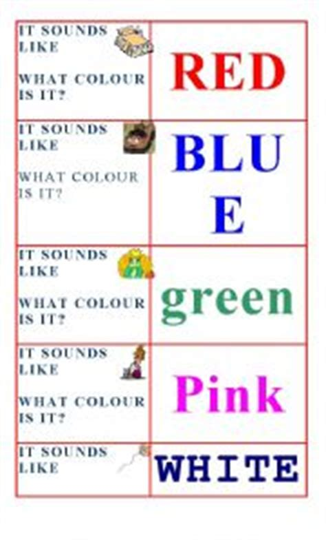 words that rhyme with colors teaching worksheets rhyming words