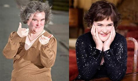 Win Your Mate A To Toe Makeover With Cq And Guess by Susan Boyle Before And After Makeover Befor And After