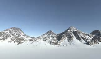 asset snow mountain  poly cgtrader