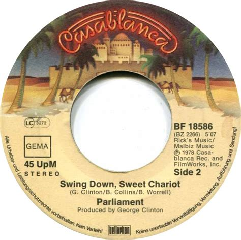 swing down sweet chariot 45cat parliament flash light swing down sweet