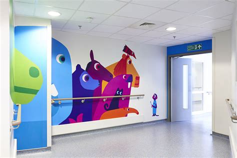 Children S Room Interior Images 15 artists collaborate to make london children s hospital
