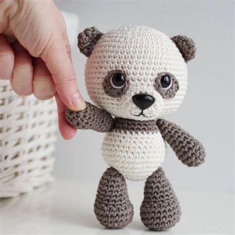 amigurumi panda 25 best ideas about crochet panda on free