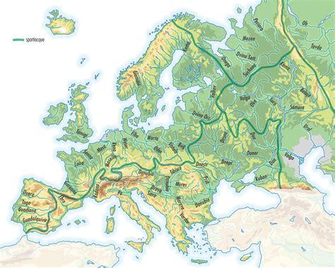 d europa i fiumi d europa