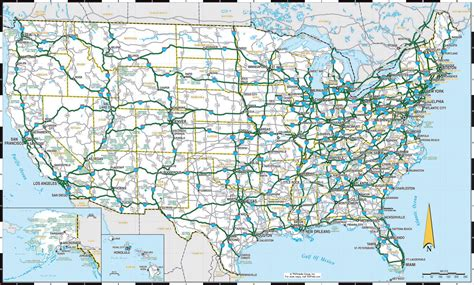 us highways weather map driving map of united states thefreebiedepot
