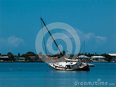 boat sinking in your dream sinking boat stock photo image 42100685
