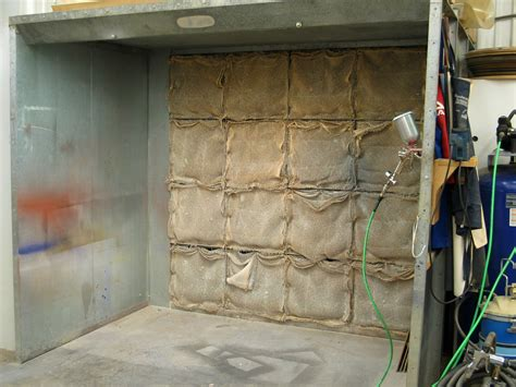cabinet shop spray booth spray booth for a small shop popular woodworking magazine