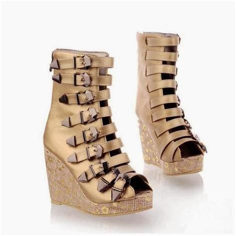 Sepatu Wanita Cantik Terbaru Dan Termurah Al 88 Bahan Syntetis vhynessa collection model sepatu boot perempuan terbaru 2014