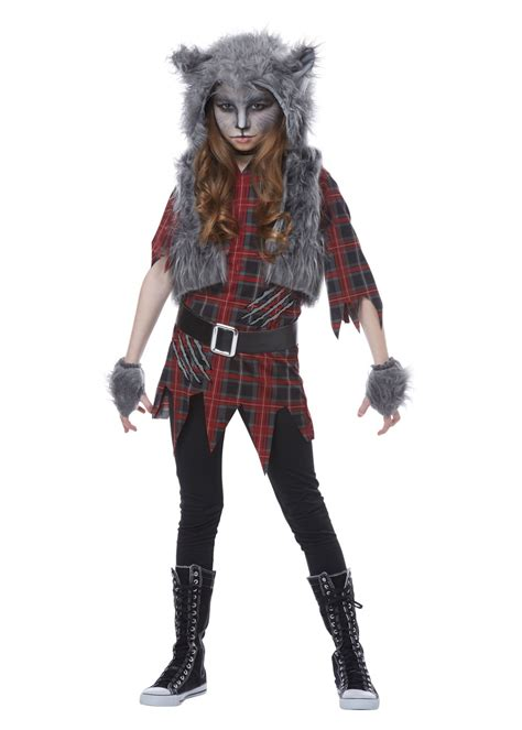 werewolf girls costume scary costumes