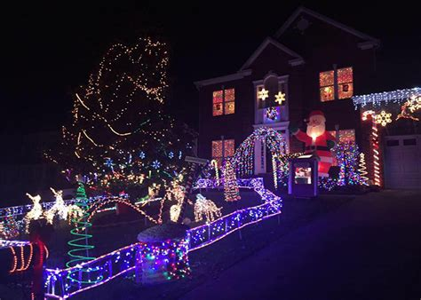 largest christmas lights displays photos top 10 most impressive light displays in the region stories