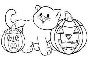 printable 25 halloween cat coloring pages 4865 halloween coloring pages cat pumpkin animal