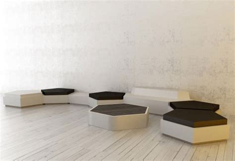 creative couch designs unique pentagon sofa design plushemisphere
