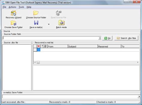Dbx Tool تحميل مجاني dbx open file tool إلى windows 10 برامج البريد الإلكتروني