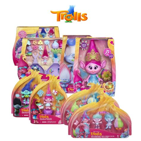 My Well Dressed Tech Toys by Hasbro Dreamworks Trolls New Collectables