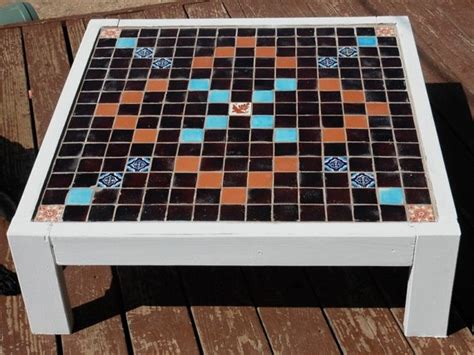 outdoor scrabble table from etsy great ideas for around