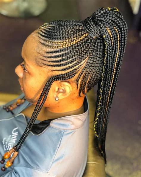 trending ghana weaving styles   cornrow hairstyles