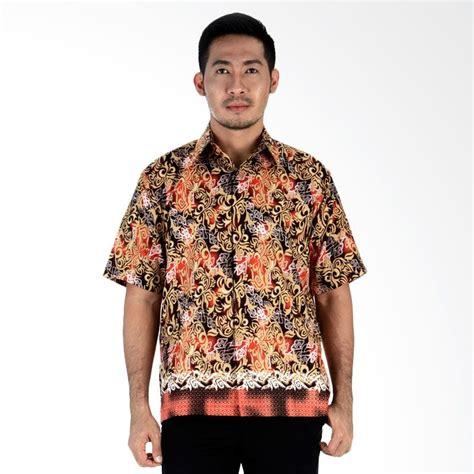 Kemeja Batik Toyota Sienta Orange jual kemeja batik baju etnik pria harga terbaik blibli
