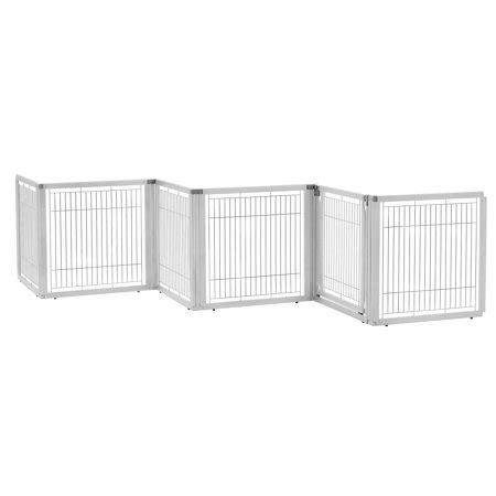 richell convertible elite freestanding pet gate  panel