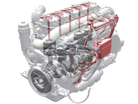 new gas engines for trucks and buses diesel like