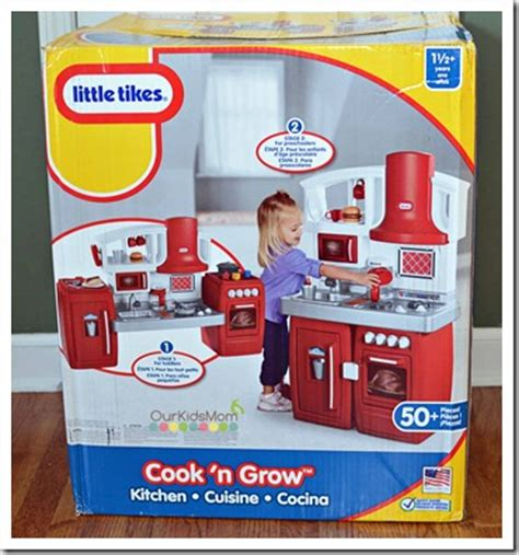 holiday gift guide little tikes cook n grow kitchen