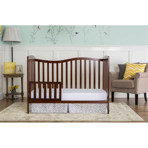 5 In 1 Baby Crib by On Me Chelsea 5 In 1 Convertible Crib In Espresso