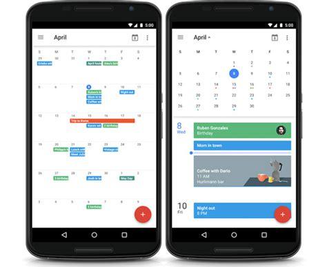 kalender app design google agenda update brengt eindelijk maandweergave terug
