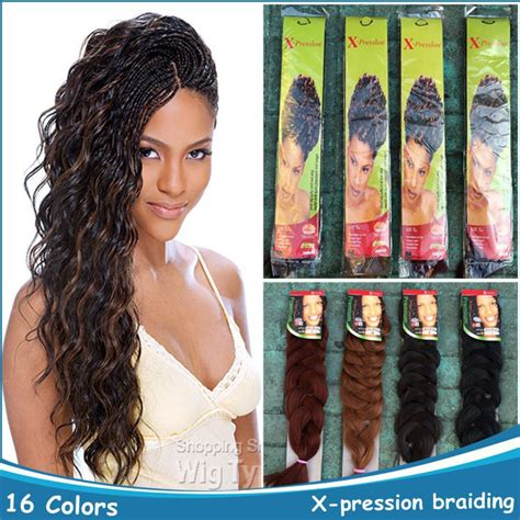 expression hair for braids what is the cost aliexpress com buy 1pc kanekalon x pression braid hair