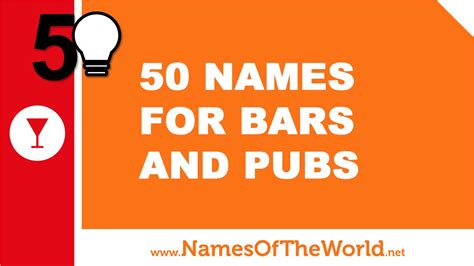 top bar names 50 names for bars and pubs the best names for your