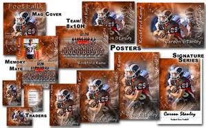 sports team photography templates football and cheer free 2014 templates unlimited poster