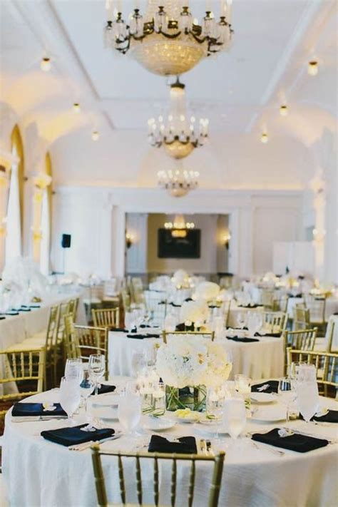 black white and gold centerpieces for wedding 54 black white and gold wedding ideas happywedd