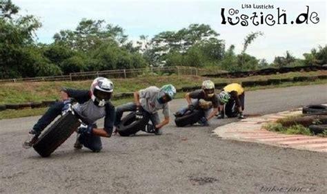Motorradrennen F R Kinder by Motorradrennen F 252 R Arme Bild Lustich De