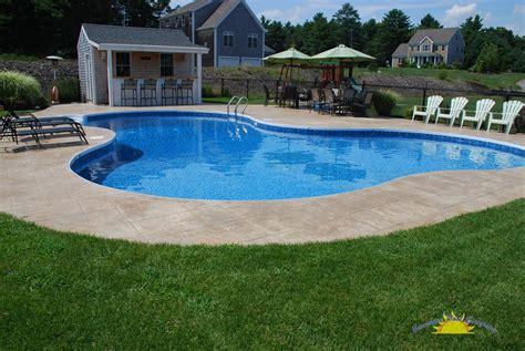 poolside designs popular small inground pool designs interior exterior
