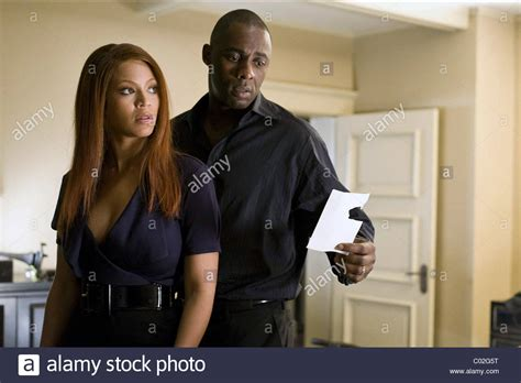 obsessed film idris beyonce knowles idris elba obsessed 2009 stock photo