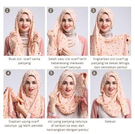 tutorial jilbab lilit 6 tutorial jilbab pashmina yang bisa kamu coba biar gaya