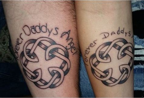 father daughter matching tattoos fathers and daughters who took the plunge and got matching