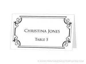 table placement cards templates avery table place cards template