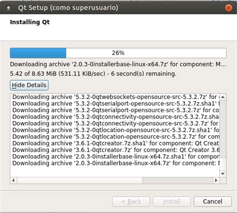 librerias qt ubuntu peronista c 243 mo compilo cool retro term para xenial
