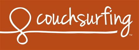 couch surfing logo travel the world like a local with couchsurfing